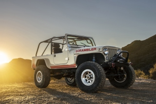Classic Jeep Cj8 Scrambler Picture for Android, iPhone and iPad