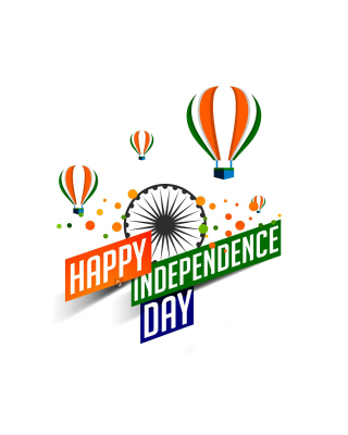 Happy Independence Day of India 2016, 2017 - Obrázkek zdarma pro 132x176