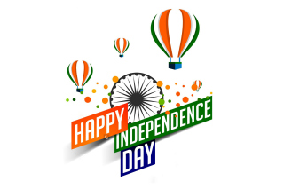 Happy Independence Day of India 2016, 2017 - Obrázkek zdarma pro 1280x1024