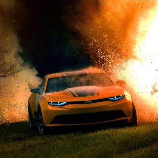 Chevrolet BumbleBee Camaro - Obrázkek zdarma pro 2048x2048