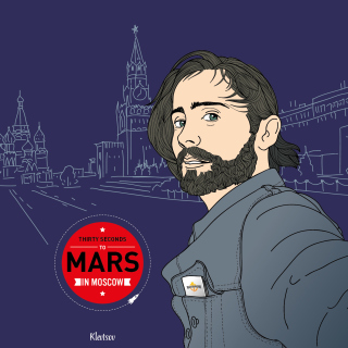 30 Seconds To Mars In Moscow - Obrázkek zdarma pro iPad Air