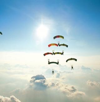 Flying - Obrázkek zdarma pro iPad mini