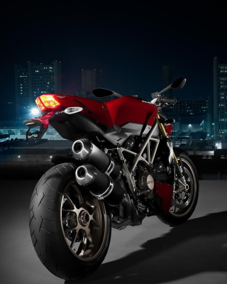 Ducati Streetfighter - Obrázkek zdarma pro 128x160