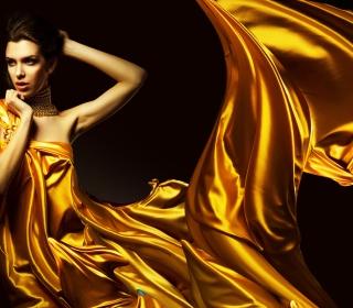 Golden Lady - Obrázkek zdarma pro iPad 3