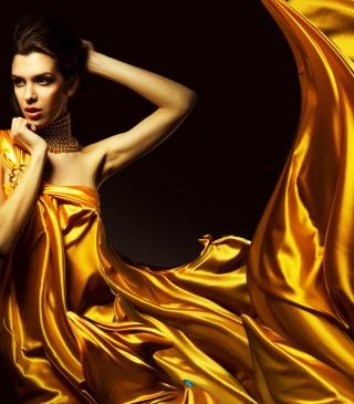 Golden Lady - Obrázkek zdarma pro Nokia C2-01