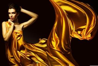 Golden Lady - Obrázkek zdarma pro Widescreen Desktop PC 1920x1080 Full HD