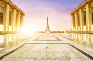 Paris - Palais De Chaillot Wallpaper for Android, iPhone and iPad