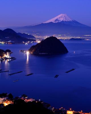 Night Fuji - Obrázkek zdarma pro Nokia Lumia 925