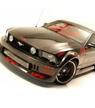 Ford Mustang Custom Tuning - Obrázkek zdarma pro 640x960