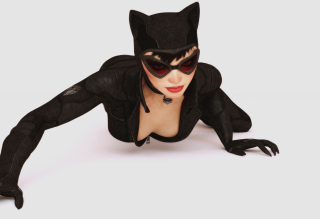 Batman Arkham City Video Game Catwoman Wallpaper for Android, iPhone and iPad
