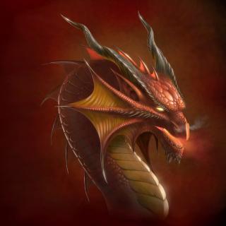 Dragon Head - Obrázkek zdarma pro iPad