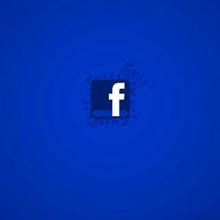 Facebook Social Network Logo - Obrázkek zdarma pro iPad