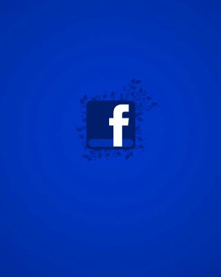 Facebook Social Network Logo - Obrázkek zdarma pro 352x416