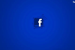 Facebook Social Network Logo - Obrázkek zdarma pro 176x144