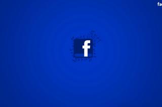 Facebook Social Network Logo - Obrázkek zdarma pro Widescreen Desktop PC 1680x1050