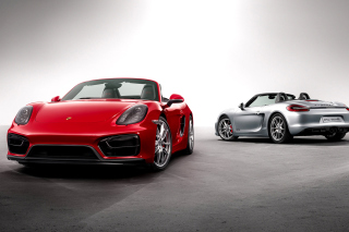 Porsche Boxster GTS Background for Android, iPhone and iPad