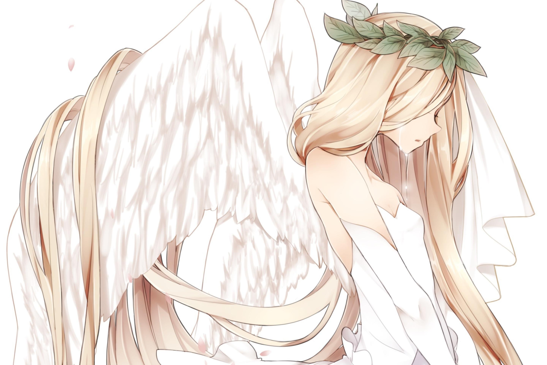 картинки аниме девушек с крыльями