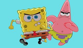 Grumpy Spongebob - Obrázkek zdarma pro Nokia Asha 200