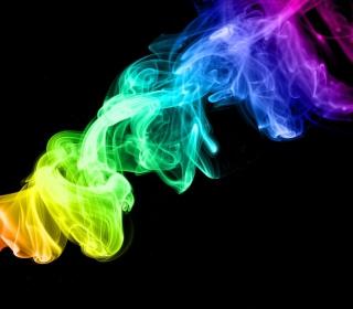 Colorful Smoke - Obrázkek zdarma pro iPad 3
