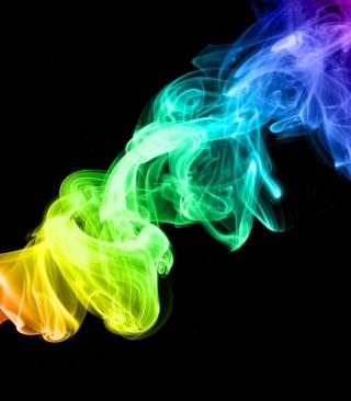 Colorful Smoke - Obrázkek zdarma pro Nokia Asha 306