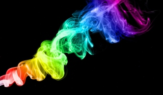 Colorful Smoke Picture for Android, iPhone and iPad