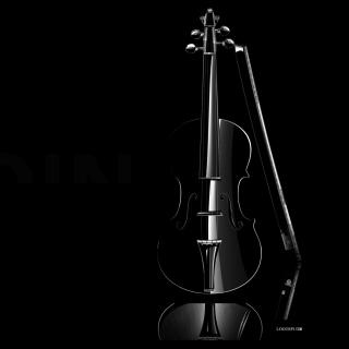 Black Violin - Obrázkek zdarma pro 1024x1024