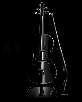 Black Violin - Obrázkek zdarma pro 352x416