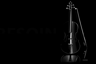 Black Violin - Obrázkek zdarma pro HTC Desire HD