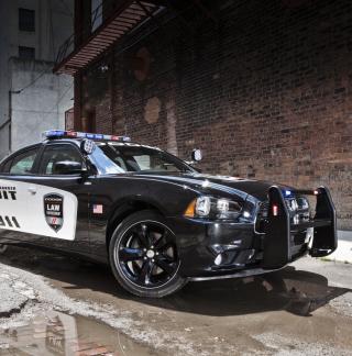 Dodge Charger - Police Car - Obrázkek zdarma pro 2048x2048