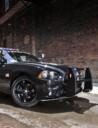 Dodge Charger - Police Car - Obrázkek zdarma pro Nokia X1-01