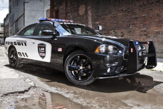 Dodge Charger - Police Car Picture for Android, iPhone and iPad