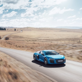 Audi R8 V10 Plus - Obrázkek zdarma pro iPad