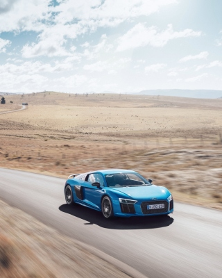 Audi R8 V10 Plus - Obrázkek zdarma pro 240x432