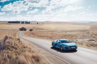 Free Audi R8 V10 Plus Picture for Android, iPhone and iPad