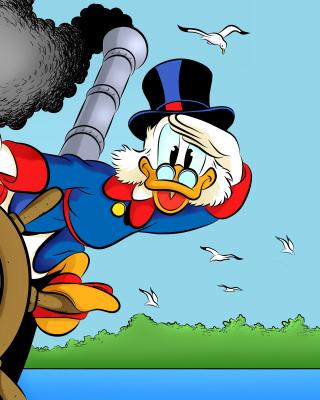 DuckTales, richest duck Scrooge McDuck - Obrázkek zdarma pro Nokia Asha 203