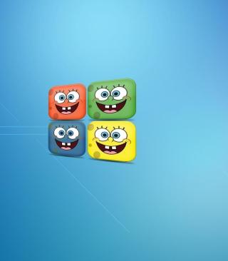 Sponge Bob - Obrázkek zdarma pro 320x480