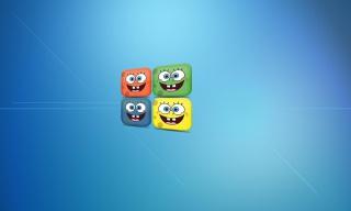 Sponge Bob - Obrázkek zdarma pro Nokia Asha 200