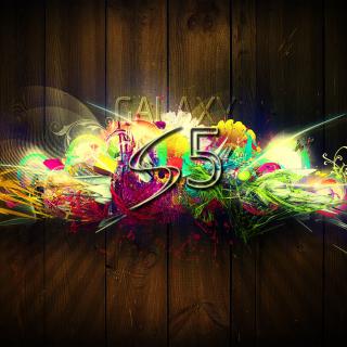 Galaxy S5 Graffiti - Obrázkek zdarma pro iPad