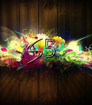 Galaxy S5 Graffiti - Obrázkek zdarma pro Nokia C2-05
