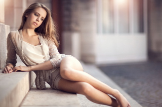 Long legs Girl - Obrázkek zdarma pro HTC Desire 310