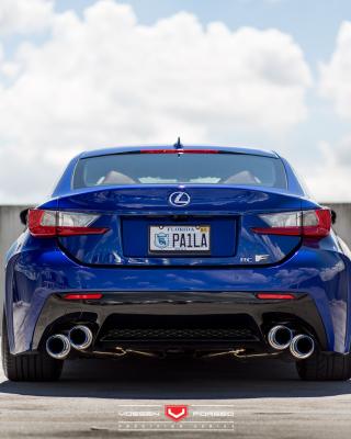 Lexus RC F Vossen Wheels - Obrázkek zdarma pro 132x176