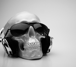 Fancy Skull - Obrázkek zdarma pro 1024x1024