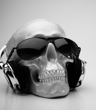 Fancy Skull - Obrázkek zdarma pro Nokia Asha 203