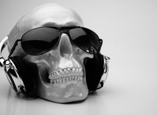 Fancy Skull - Obrázkek zdarma pro Motorola DROID 3