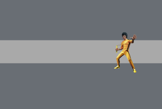 Bruce Lee Kung Fu Background for Android, iPhone and iPad