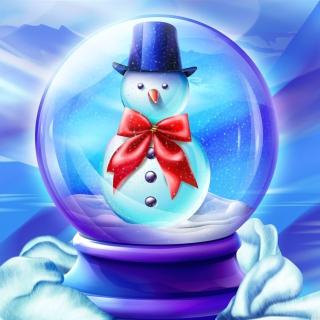 Snow Globe - Obrázkek zdarma pro 208x208