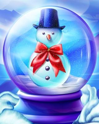 Snow Globe - Obrázkek zdarma pro Nokia Asha 202