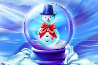Snow Globe - Obrázkek zdarma pro Motorola DROID 2