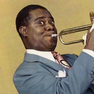 Louis Armstrong, Jazz History - Obrázkek zdarma pro iPad mini