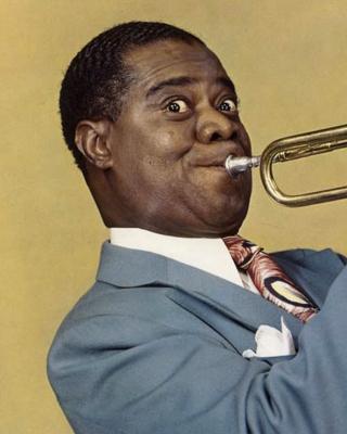 Louis Armstrong, Jazz History - Obrázkek zdarma pro 640x960